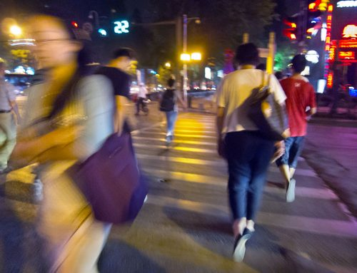 Nanjing Streets, Night