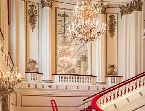 Staircase, Powell Hall, St. Louis, Missouri