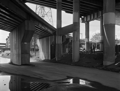 Poplar Street Bridge, Railroad Trestle, Chouteau's Landing