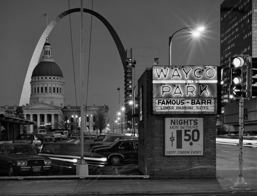 The Arch and Waco Park Before Keiner Plaza, Dusk,1981