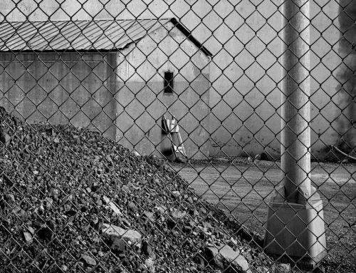 Maintanance Shack, Beneath the Poplar Street Bridge, 1990