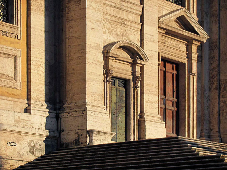 /product//church-facade-sunset-rome/