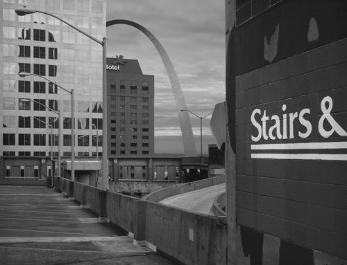 The Arch From Keiner Plaza Garage,1997
