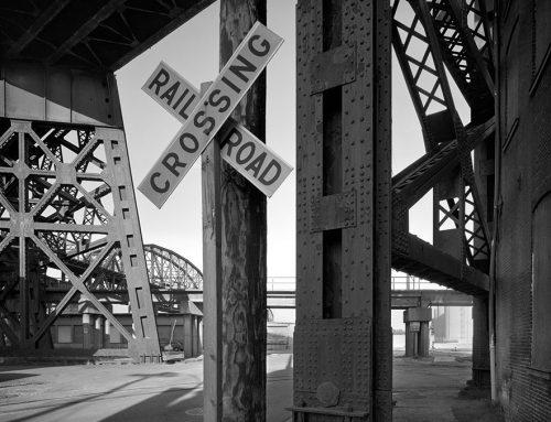 Trestles of the MacArthur Bridge, Chouteau's Landing, 1994