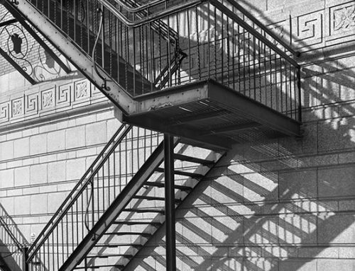 Fire Escape, Shadow, Powell Symphony Hall