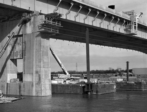 Reconstruction, Poplar Street Bridge 2, 2018